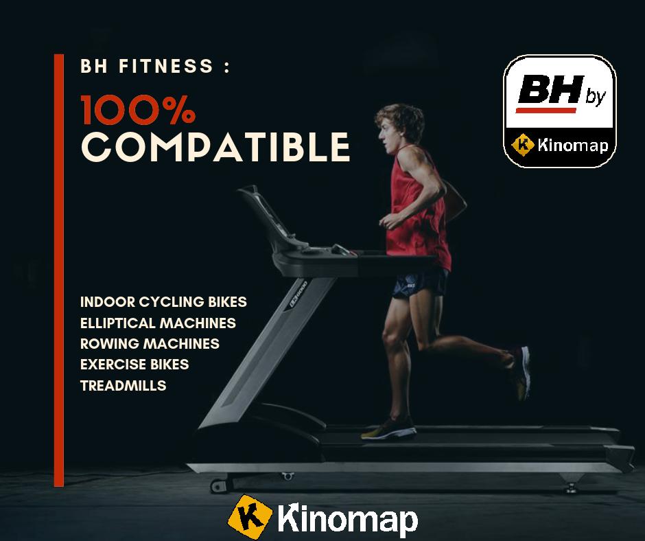 BH Fitness futópad applikációk