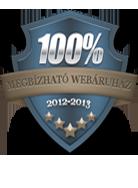 Megbízható áruház 2012-2013 futópad kategória