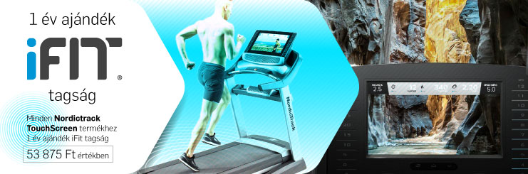 NordicTrack Incline Trainer X22i futópad